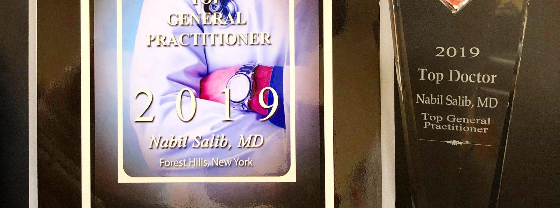 2019 PREMIO AL MEJOR DOCTOR